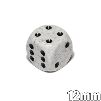 12mm Speckled Arctic Camo d6