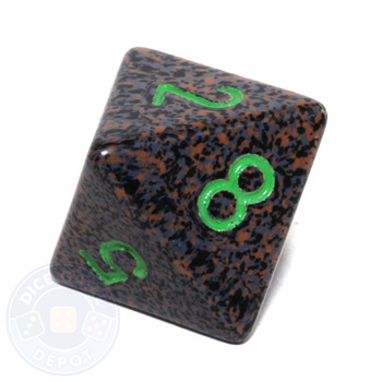 d8 - Speckled Earth 8-sided Dice