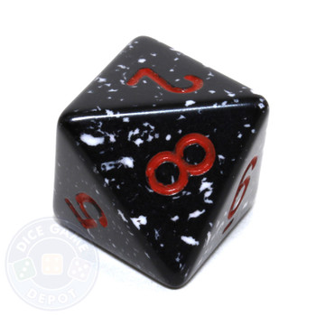d8 - Speckled Space 8-sided Dice