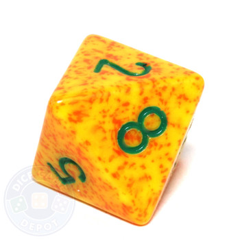 d8 - Speckled Lotus 8-sided Dice