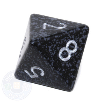 d8 - Speckled Ninja 8-sided Dice
