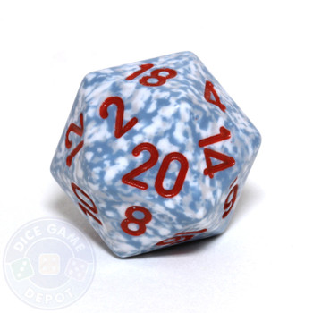 d20 - Speckled Air 20-sided Dice