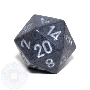 d20 - Speckled Hi-Tech 20-sided Dice