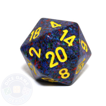 d20 - Speckled Twilight 20-sided Dice