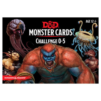 D&D Monster Card Deck - 0-5