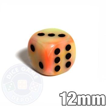 Festive Circus 12mm dice