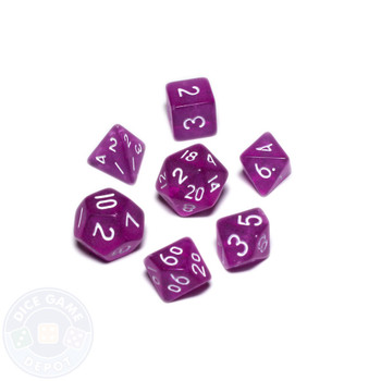 Mini dice set - Alchemical Elements - Cave Thistle