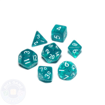 Mini dice set - Alchemical Elements - Mermaid Scales