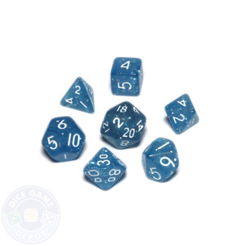 Mini dice set - Alchemical Elements - Will o the Wisp