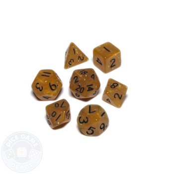 Mini dice set - Alchemical Elements - Honeycomb