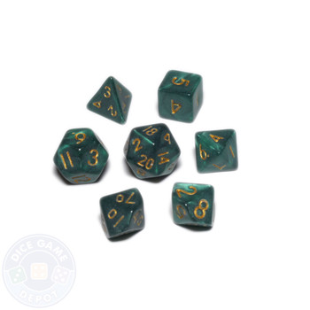 Mini dice set - Alchemical Elements - Hydra Claws