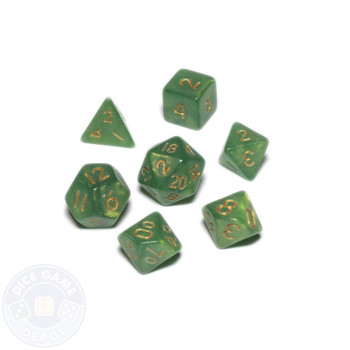 Mini dice set - Alchemical Elements - Eye of Newt
