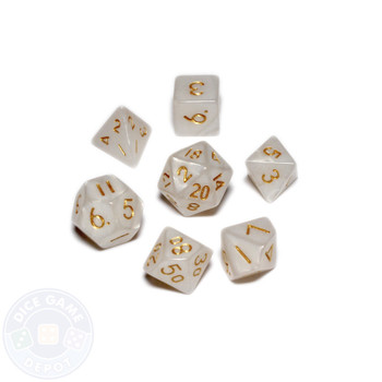 Mini dice set - Alchemical Elements - Holy Water