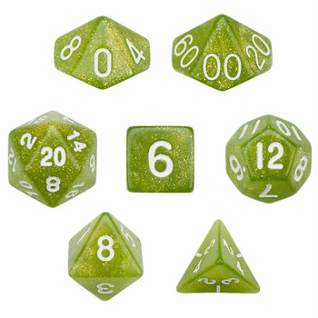 Serpent dice set