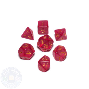Mini dice set - Alchemical Elements - Mana Fragments