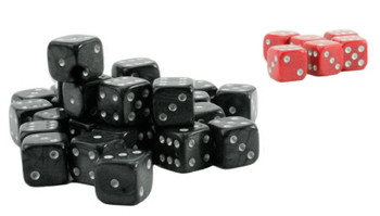Wargame dice - Black