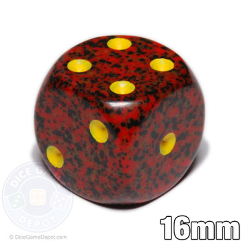 Speckled Mercury 6-sided dice