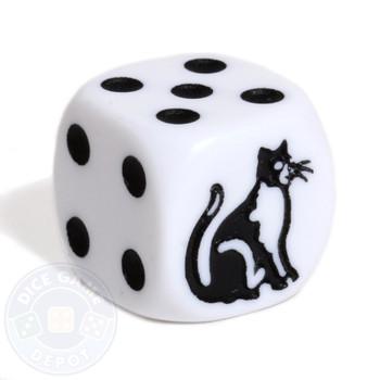 Cat dice - 16mm