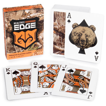 Realtree Edge Camouflage playing cards