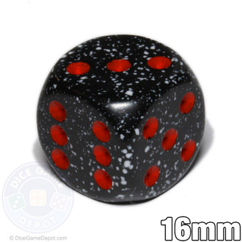 Speckled Space 6-sided dice