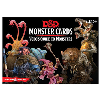 Dungeons & Dragons Monster Cards: Volo's Guide