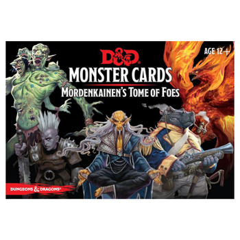 Mordenkainen's Tome DnD monster cards