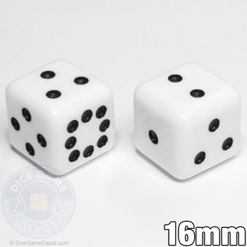 Sicherman dice set - White
