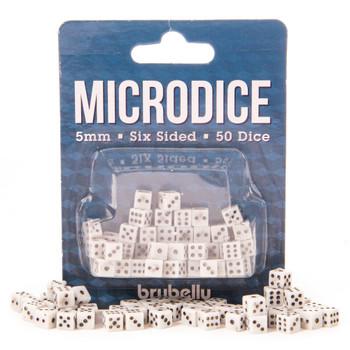 5mm microdice - Set of 50 tiny dice