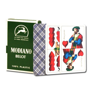 Deck of Belot Italian Regional Playing Cards
