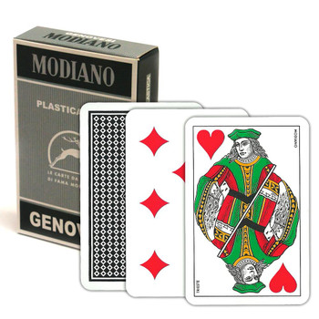 Italian Regional Plastic Playing Cards - Genovesi
