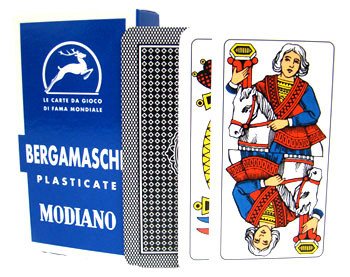Italian Regional Playing Cards - Bergamasche