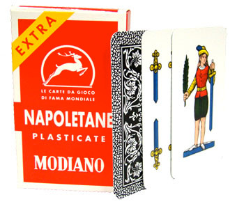 Italian Regional Playing Cards - Napoletane 97/25