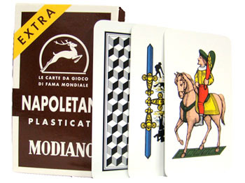 Italian Regional Playing Cards - Napoletane 97/38