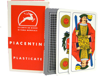 Italian Regional Playing Cards - Piacentine
