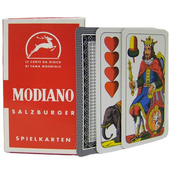 Italian Regional Playing Cards - Salzburger