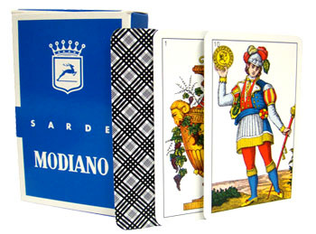 Italian Regional Playing Cards - Sarde