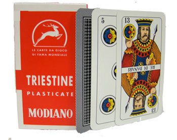 Italian Regional Playing Cards - Triestine