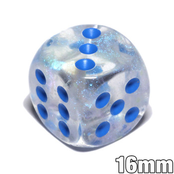 Borealis Luminary Icicle dice - d6
