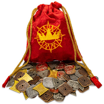 King's Coffers - Fantasy Coin Set