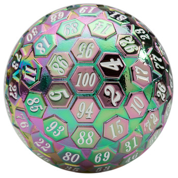 100-sided dice - Prismatic