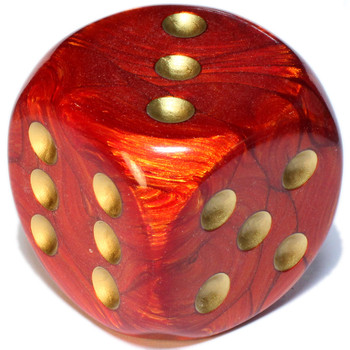 50mm Scarab Scarlet Dice
