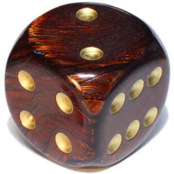 50mm Scarab Blue Blood Dice