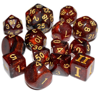 Hellcat dice set for DCC