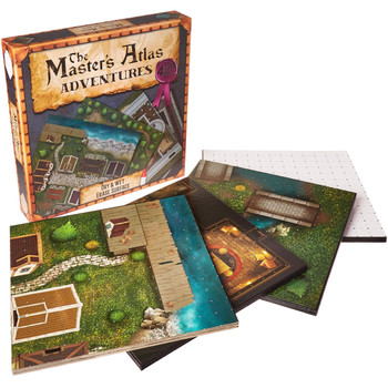 The Master's Atlas - Adventures