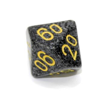 d10 Tens dice - Speckled Urban Camo