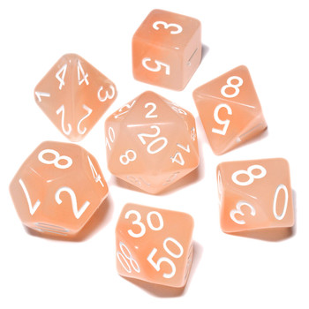 Polyhedral dice set - D&D dice - Pixie Wings