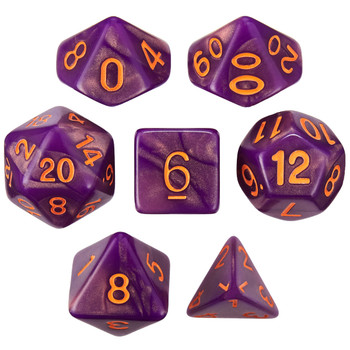 Witching Hour dice set for D&D, Pathfinder, and other tabletop RPGs