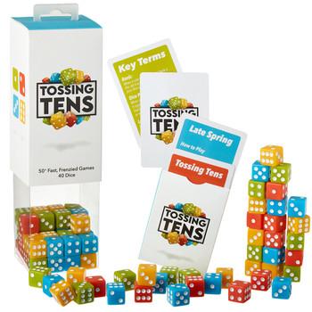Tossing Tens dice games