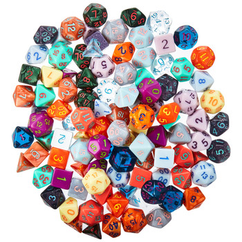 Series 4 dice sets - Painter's Palette