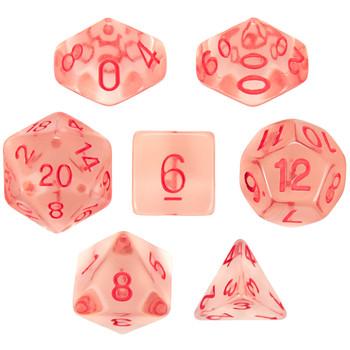 Death Diamonds dice set - D&D, Pathfinder, etc